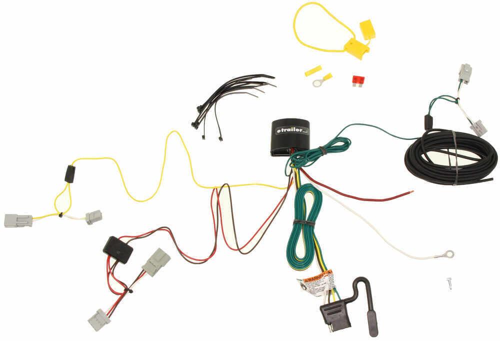 Tekonsha 4 Flat Custom Fit Vehicle Wiring - 118596