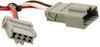 Custom Fit Vehicle Wiring 118596 - 4 Flat - Tekonsha
