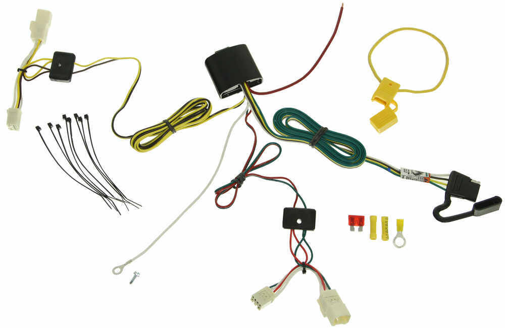 118610 - 4 Flat Tekonsha Custom Fit Vehicle Wiring