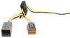 T-One Vehicle Wiring Harness with 4-Pole Flat Trailer Connector Custom Fit 118613