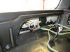 T-One Vehicle Wiring Harness with 4-Pole Flat Trailer Connector Powered Converter 118628 on 2015 Acura MDX