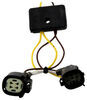 T-One Vehicle Wiring Harness with 4-Pole Flat Trailer Connector Powered Converter 118643