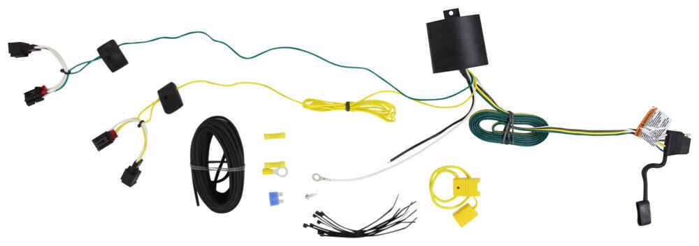 118675 - 4 Flat Tekonsha Custom Fit Vehicle Wiring