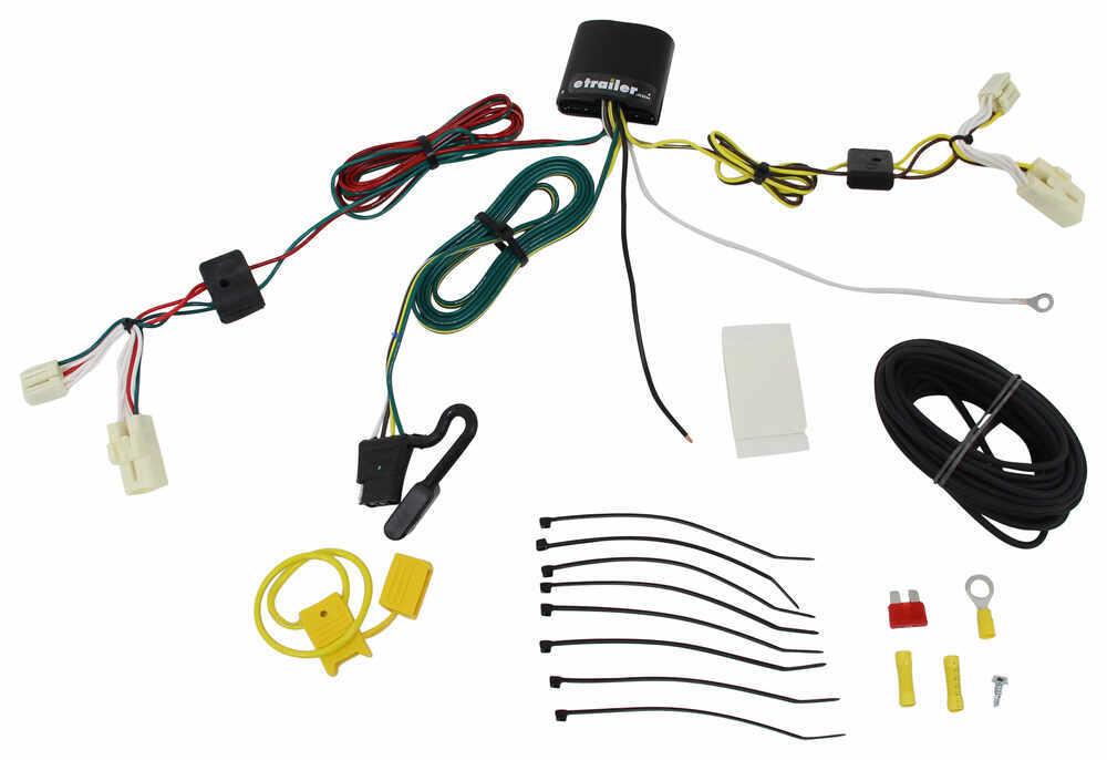 118692 - 4 Flat Tekonsha Custom Fit Vehicle Wiring