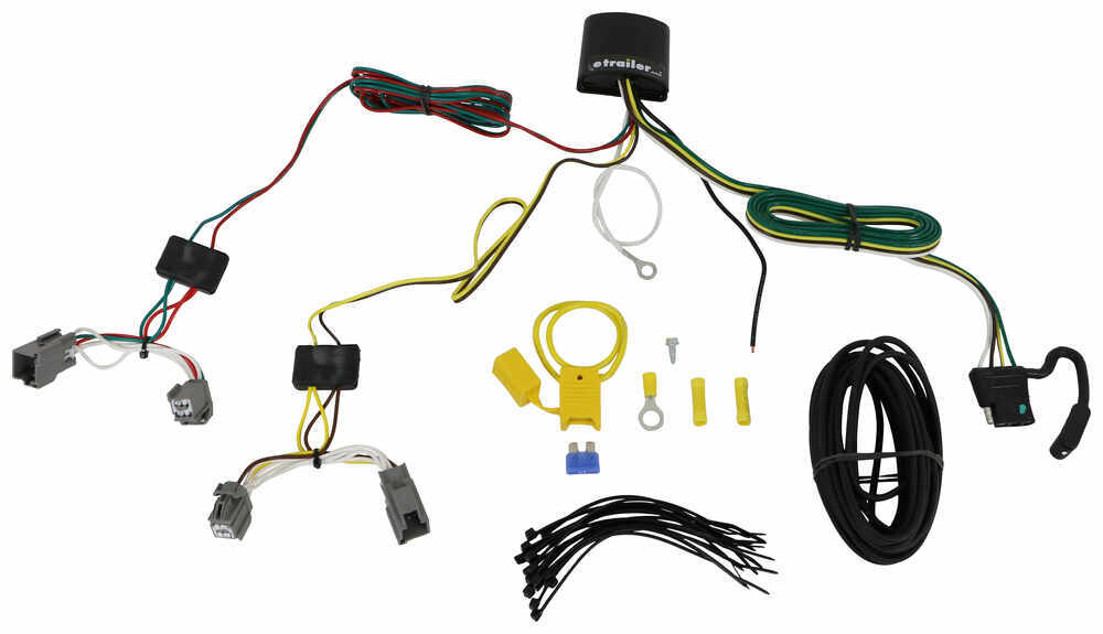 118739 - 4 Flat Tekonsha Trailer Hitch Wiring