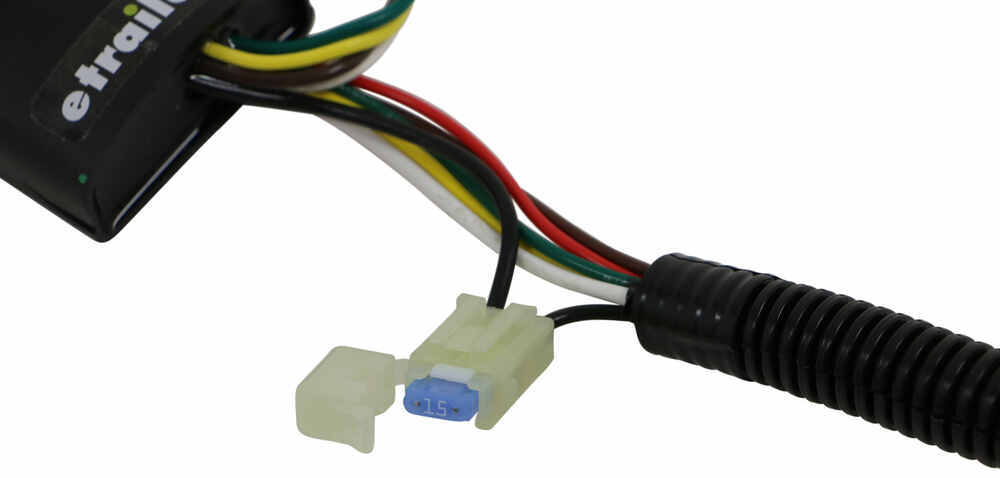 T One Vehicle Wiring Harness With 4 Pole Flat Trailer Connector Tekonsha Custom Fit Vehicle Wiring 118741