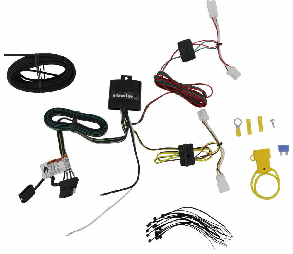 T-One Vehicle Wiring Harness with 4-Pole Flat Trailer Connector 4 Flat 118749