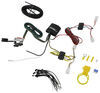 T-One Vehicle Wiring Harness with 4-Pole Flat Trailer Connector Custom Fit 118749