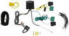 T-One Vehicle Wiring Harness with 4-Pole Flat Trailer Connector Powered Converter 118750