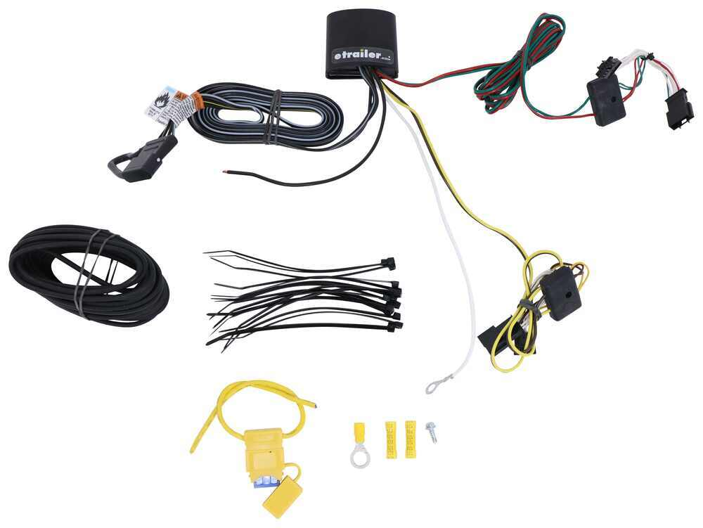 Tekonsha Custom Fit Vehicle Wiring - 118773