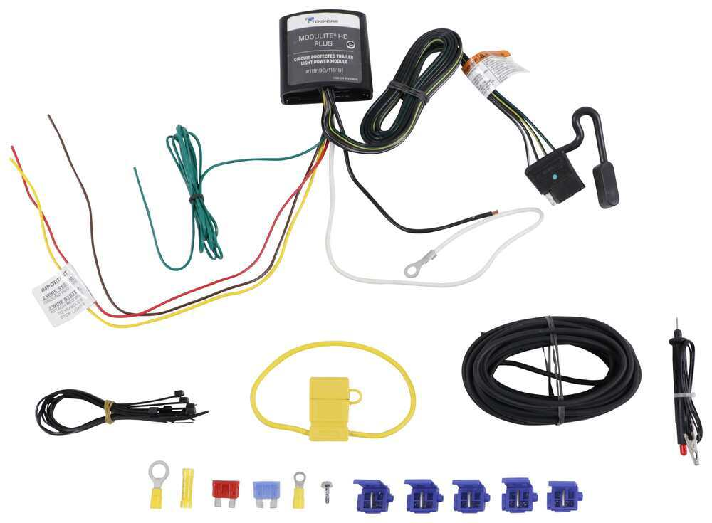 Tekonsha Plug and Lead Wiring - 119190KIT