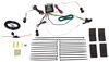 ZCI Circuit Protected Vehicle Wiring Harness w/ 4-Pole Flat Trailer Connector and Installation Kit 4 Flat 119250KIT