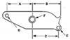 Trailer Leaf Spring Suspension 13-4 - Standard Equalizer - Redline
