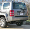 13245 - Visible Cross Tube Curt Custom Fit Hitch on 2012 Jeep Liberty