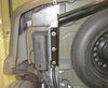 Trailer Hitch 13245 - Visible Cross Tube - Curt on 2012 Jeep Liberty