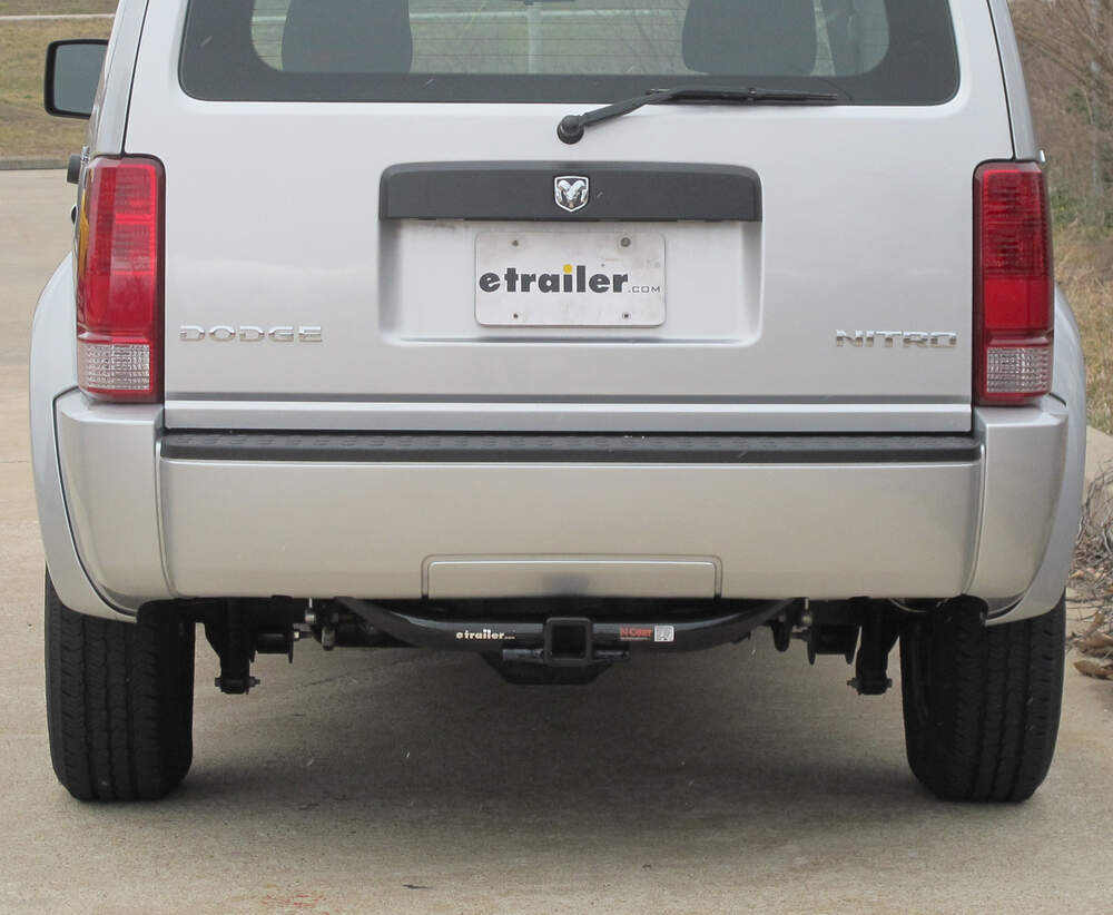[TVPR_3874]  Dodge Nitro Curt Trailer Hitch Receiver - Custom Fit - Class III - 2