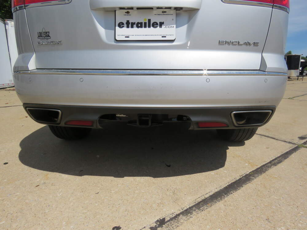 Curt Class 3 Trailer Hitch Bundle With Wiring For Buick Enclave from images.etrailer.com