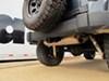 "Curt Trailer Hitch Receiver - Custom Fit - Class III - 2"" 3500 lbs GTW 13432 on 2007 Jeep Wrangler"