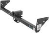 curt trailer hitch custom fit 5000 lbs wd gtw receiver - class iii 2 inch