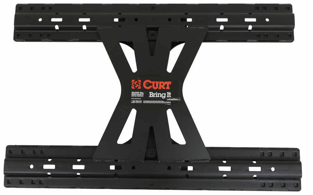 Curt X5 5th Wheel Base Rails Adapter for B&W Turnoverball Gooseneck Trailer Hitches - 20,000 lbs Fixed Height 16310