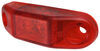 Piranha Slim-Line LED Mini Clearance or Side Marker Light - Submersible - 2 Diodes - Red Lens Rear Clearance 168R