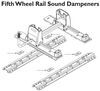 16900 - Sound Dampeners Curt Fifth Wheel Hitch