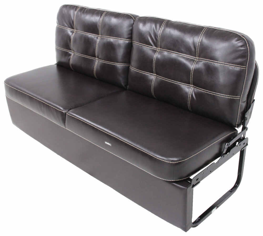 "Thomas Payne RV Jackknife Sofa w/ Leg Kit - 68"" Wide - Melody Walnut Wall Clearance Required 195-000013-017"