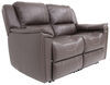 thomas payne rv couches and chairs heritage dual reclining loveseat - 58 inch wide majestic chocolate