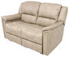 thomas payne rv couches and chairs heritage dual reclining loveseat - 58 inch wide grantland doeskin