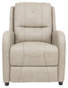 "Thomas Payne Pushback RV Recliner w/ Footrest - 27"" Wide - Grantland Doeskin 27-1/2 Inch Wide 195-000031"