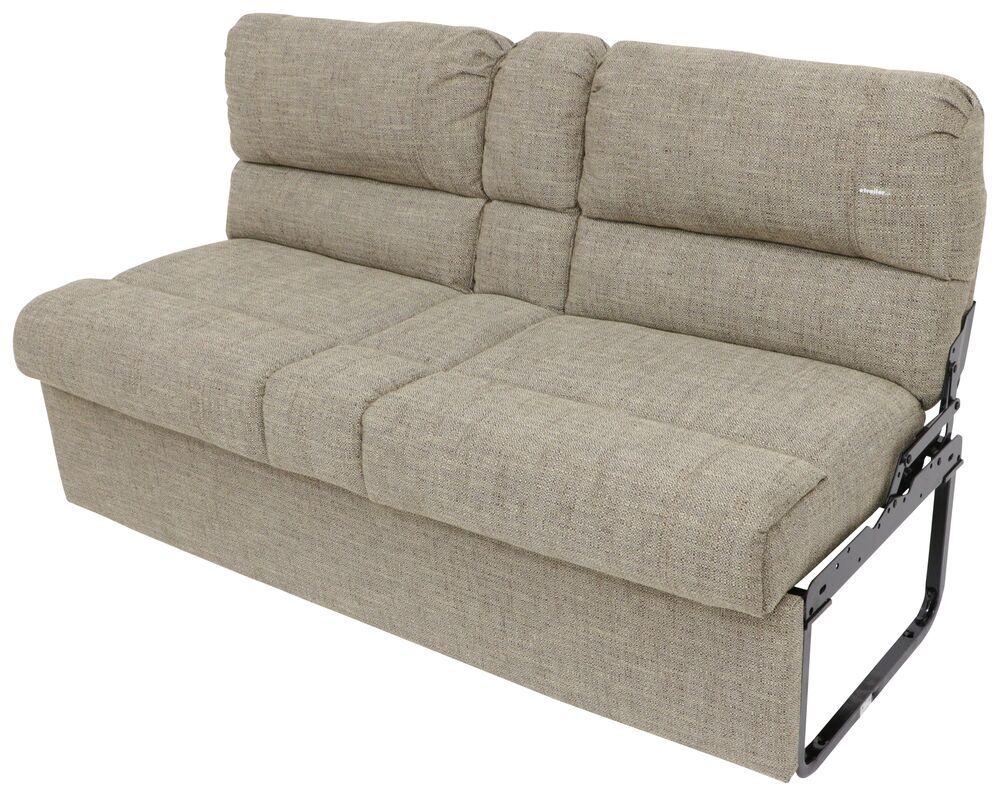 "Thomas Payne RV Jackknife Sofa w/ Leg Kit, Center Console - 62"" Wide - Cobble Creek With Leg Kit 195-000079-017"