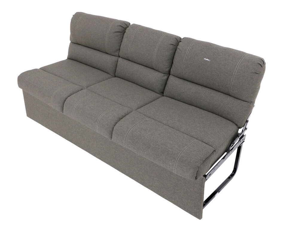 "Thomas Payne RV Jackknife Sofa W/ Leg Kit, Center Console - 68"" Wide - Dunes Gray Thomas Payne RV Couches And Chairs 195-000121-017"
