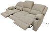 Thomas Payne Seismic Triple Power Reclining RV Couch w/ Heat, Massage, LEDs, USB - Cobble Creek Tan 195-100-099-098