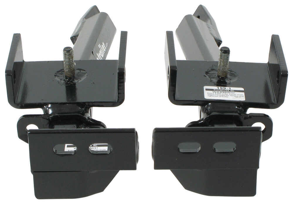 Roadmaster XL Crossbar Style Base Plate Kit - Removable Arms Hitch Pin Attachment 199-1