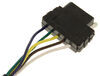 20036 - 4 Flat Tow Ready Wiring Adapters