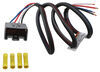trailer brake controller wired to tekonsha custom wiring adapter for controllers - pigtail ford