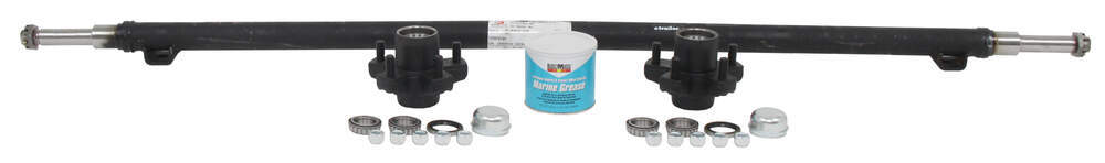 """Dexter Trailer Axle with Idler Hubs - 5 on 4-1/2 Bolt Pattern - 60"""" Long - 2,000 lbs 2000 lbs 20545I-ST-60-10"""