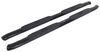 "Westin PRO TRAXX Oval Nerf Bars - 4"" - Black Powder Coated Steel Black 21-23935"