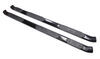 westin nerf bars - running boards gloss finish pro traxx oval 5 inch black powder coated steel wheel-2-wheel