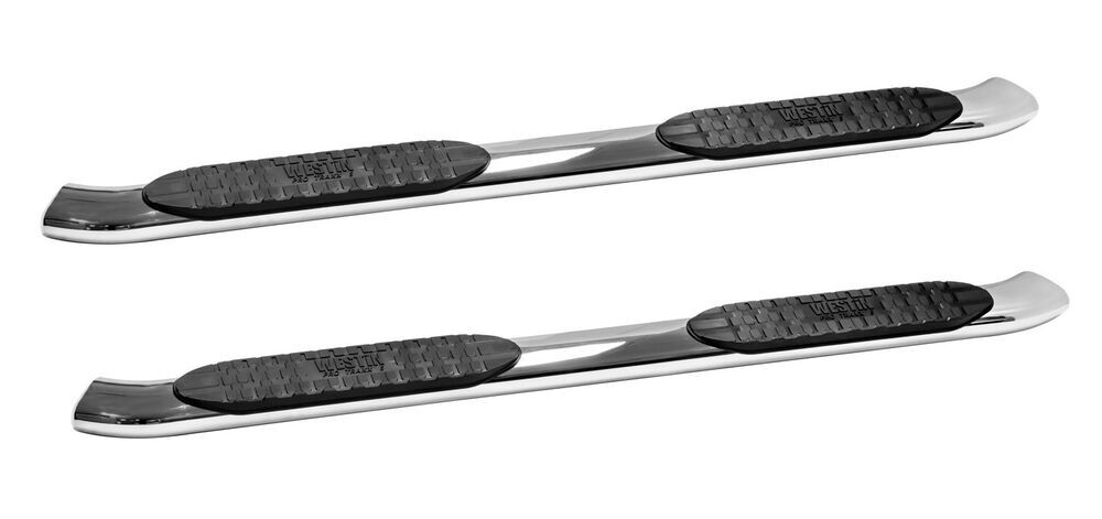 Westin Polished Finish Nerf Bars - Running Boards - 21-53710