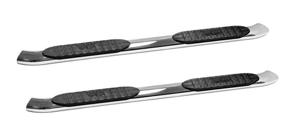 Westin Silver Nerf Bars - Running Boards - 21-54130