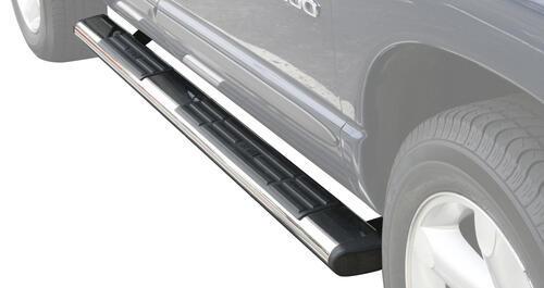 Westin 22-6020 Premier 75 X 6 Polished Stainless Steel Oval Side Bar