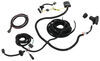 Tekonsha OEM Replacement Vehicle Wiring Harness w Brake Controller Adapter - 7 Way Trailer Connector Custom Fit 22114