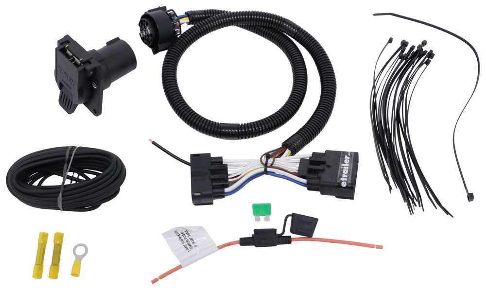 Tekonsha Custom Fit Vehicle Wiring - 22124
