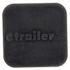 "etrailer Rubber Hitch Cover for 1-1/4"" Trailer Hitches - Qty 1 Plain 22281"