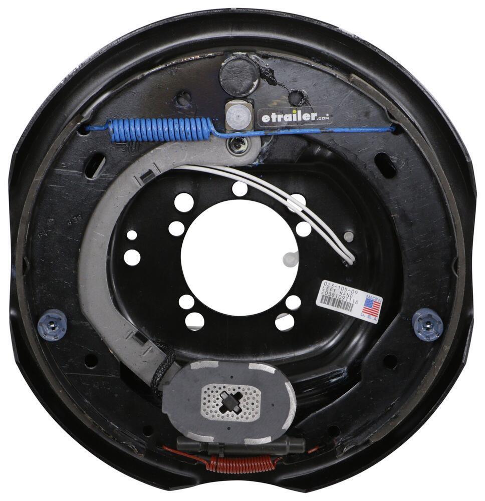 """Dexter Electric Brake Assembly for 4 Bolt or 5 Bolt Flange - 12"""" - Left Hand - 6,000 lbs Brake Assembly 23-105-09"""
