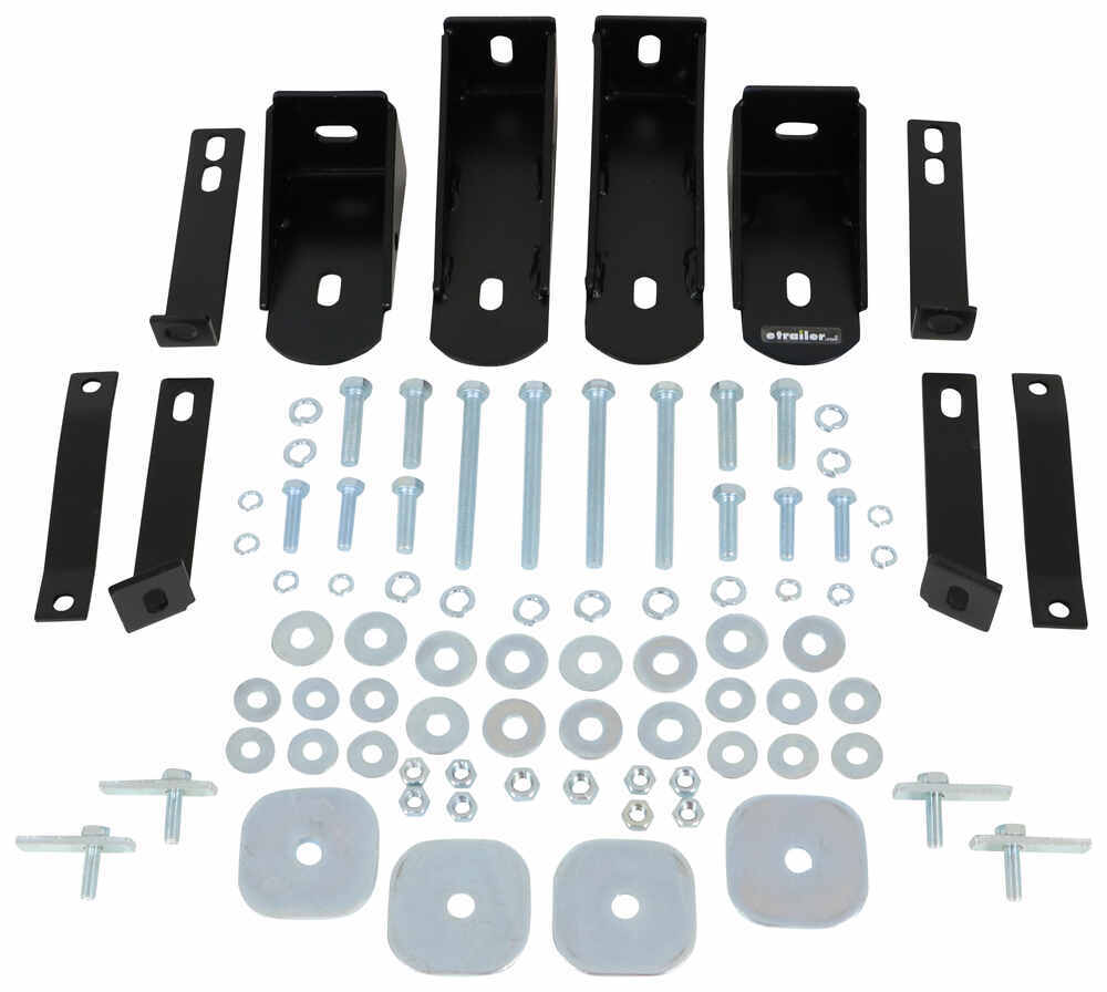 """Replacement Mounting Brackets and Hardware for Westin 3"""" Round Nerf Bars Installation Kit 23-232PK"""