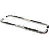 """Westin E-Series Round Nerf Bars - 3"""" - Polished Stainless Steel Cab Length 23-2350"""