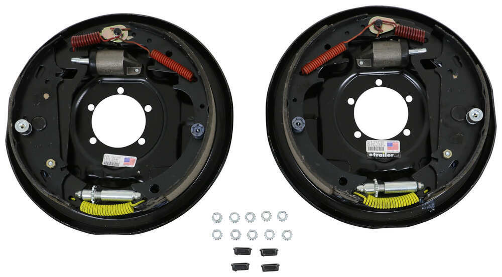 23-342-343 - Brake Set Dexter Axle Hydraulic Drum Brakes