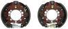 "Dexter Hydraulic Drum Brake Kit - Duo Servo - 12-1/4"" - Left and Right Hand Assemblies - 12K Brake Set 23-408-409"
